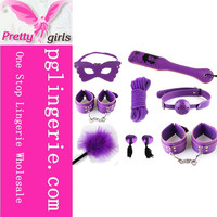 Wholesale Price Purple Adult Games Sex Tools Sexy Adult Toy Set