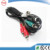 Customized XLR to right angled Jack plug 3.5mm audio cable
