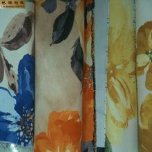 2012 new printed design blackout fabric curtain fabric