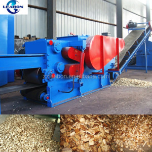 Widely used Industrial Electric/Diesel Drum Type wood log/branch chipper machine made in China