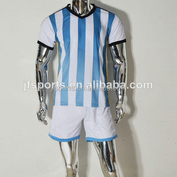 Wholesale Brazil Argentina Spain Germany Portugal Holland 2014 World Cup Soccer Jersey Thailand Quality