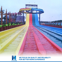 Hot sell Great Fun family water slides and flumes for sale