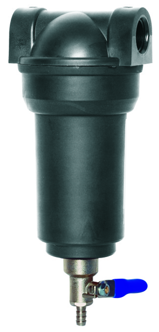 RO System Component KKFS-18 Black Water Filter Housing