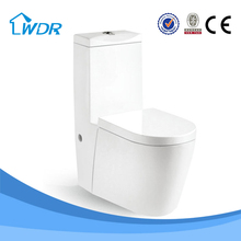 HOT sanitaryware ceramic one piece elongated S-trap siphonic toilet