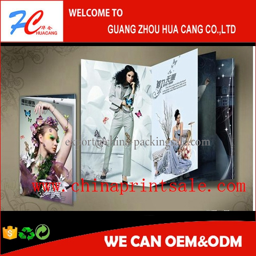 hard cover full color book printing /full color magazine in china Guangzhou