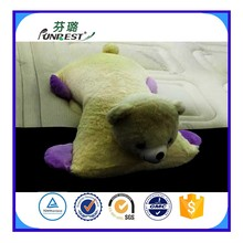 bear shape latex foam animal shape body pillow