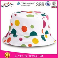 Wholesale Design Your Own 100% Cotton Polo Bucket Hats Wholesale Tie Dyed Bucket Hat Custom Print Bucket Hat