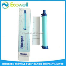 OEM Survival Straw Filters Over 800L Personal Water Filter Straw