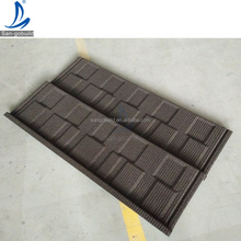 High Quality Stone Chip Coated Metal Roofing Shingle Tiles For Ghana, Philipines, Nigeria, Kenya