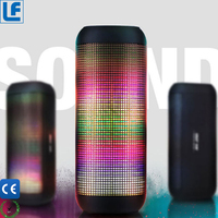 new arrivals 2018 angle 3 colorful light mp3 player wireless blue tooth speaker from china