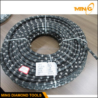 Open Loop Quarry Diamond Saw Wire For Granite Marble Block