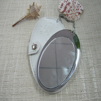 Professional Fancy Oval special Pocket mirror Compact Makeup cheap beauty gifts