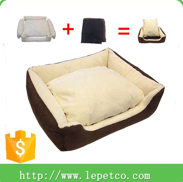 Manufacturer wholesale pet supply luxury soft warm pet bed pet dog bed
