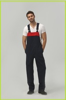 colours design Breathable cotton workwear bib trousers overalls