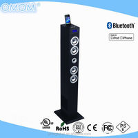 multimedia tower speaker with USB/SD/FM/AUX