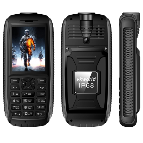 Low Price Original VKworld Stone V3 Max Quadruple <strong>Phone</strong> Waterproof Shockproof Dustproof, 2.4 inch Russian Keyboard Smart <strong>Phone</strong>