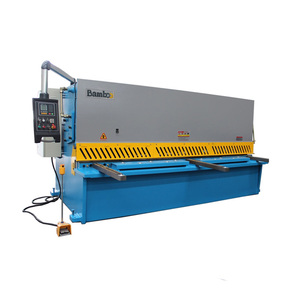 China made CE ISO stable performance hydraulic shearing machine guillotine