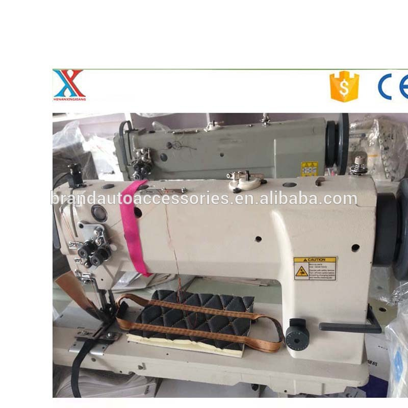 alibaba China factory double needles & single needle car mat sewing machine