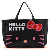 HelloKitty Travel Luggage Bag, Big Totes Shoulder Bag, Shopping Handbag