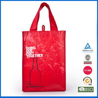 14 years factory experience high quality wine bottle bag/wholesale wine bag