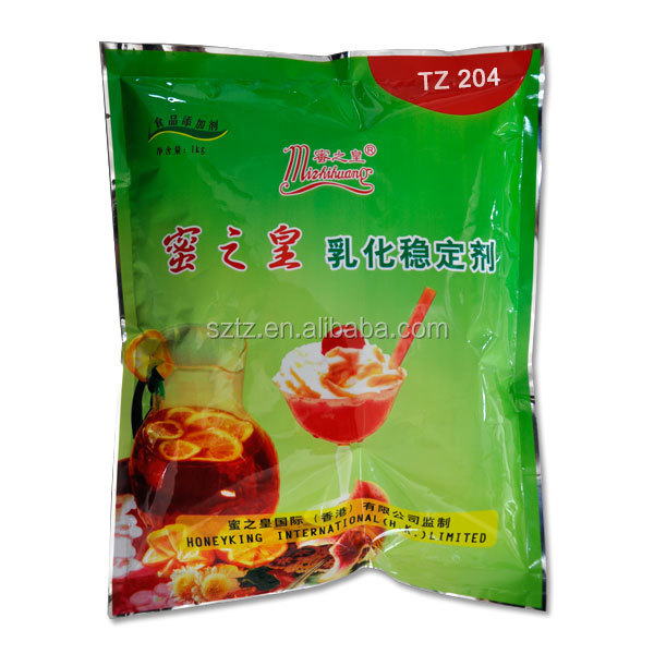 TZ-204 Food additive for dairy/beverages/ bakery /candy/ ice-cream /jelly /pudding compound emulsifier stabilizer thickener