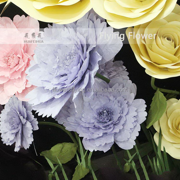 Practical latest wedding backdrop design with flowers