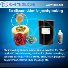 transparent liquid Silicone Rubber for jewelry molding