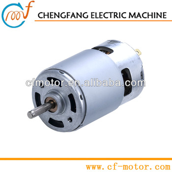 24V dc electric motor 775 power tools and cropper motor