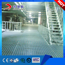 HDG steel grating stair treads heavy duty grating trench drain cover
