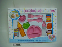 TOY DOLL LOVE FEEDING SET