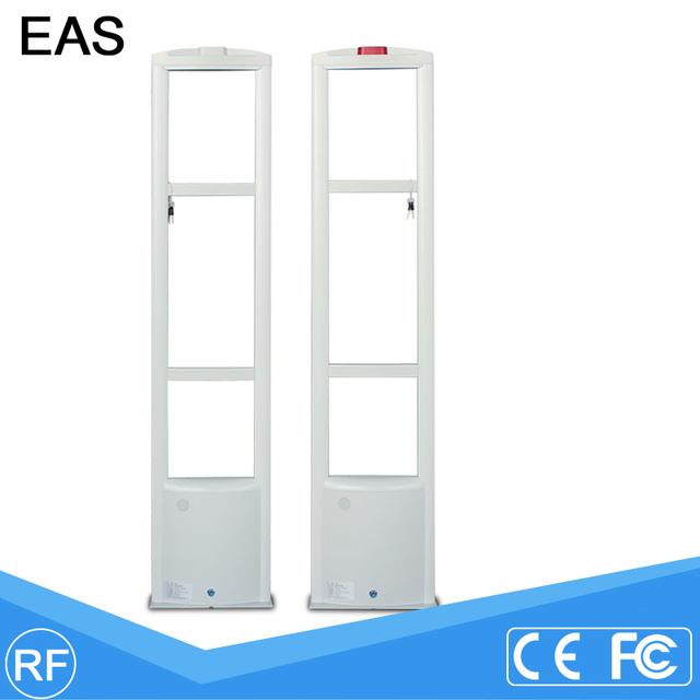 Clothing anti-theft system Supermarket EAS Anti Theft Device 8.2MHz Scanner Door Anti-Theft System RF Detector Gate