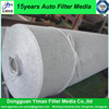 Dust collector non woven filter cloth material