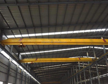 2t and 5t hot sale warehouse single girder traveling electric overhead crane with basbar systems price