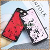High Quality Beautiful Heart Shape Sequins Quicksand Hard phone case for iphone 7 plus