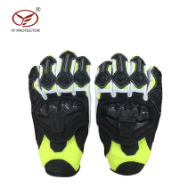 Outdoor motocross racing gloves/leather motorcycle gloves