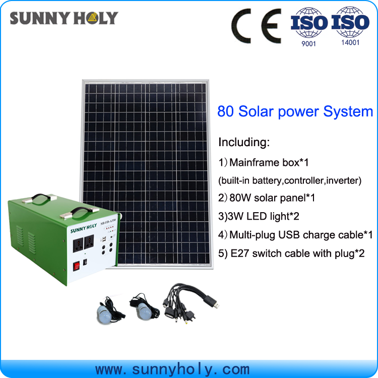 Portable solar energy panel power system for home for pakistan