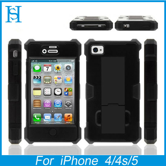 2013 new design holster combo phone cases for iphone 5 hybrid case