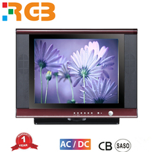 Black Cabinet Color and CRT Type Factory Price New design 14''17''21 Inch Ultra slim Color TV