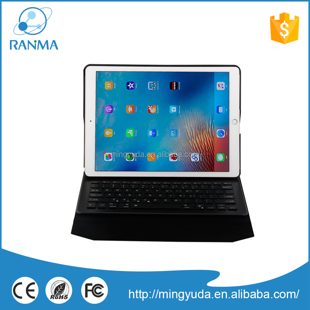 Ultrathin universal aluminum case with bluetooth keyboard