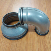 Round ducts fittings for ventilation,air conditioning, HVAC