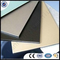 Wallboard and ceilings,PE/PVDF aluminium-plastic composite panel made in China