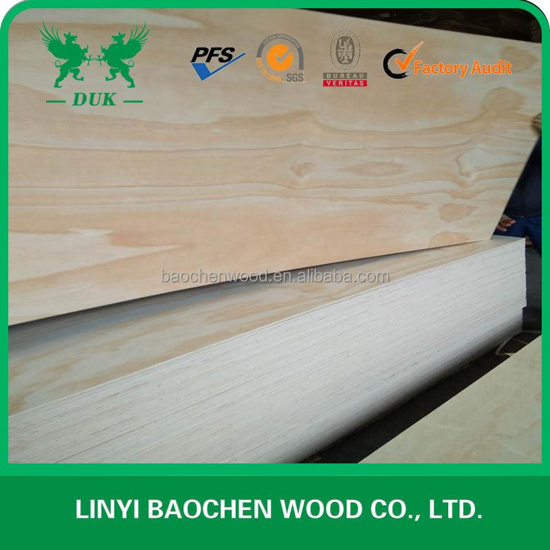 CD GRADE PINE PLYWOOD E1 GLUE/Full Radiate Pine Plywood CE Certification