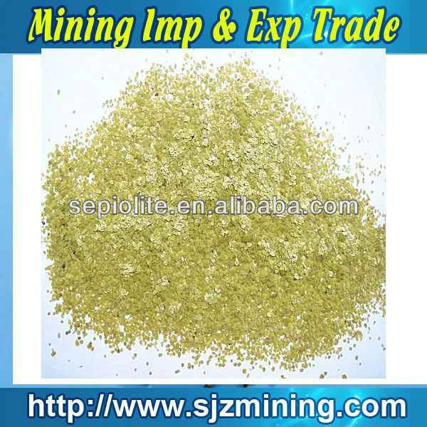 high quality Chinese mica powder in plastics
