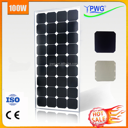 Sunpower Cell 100 Watt Solar Panel Factory Discount for Promote--- HOT SALE
