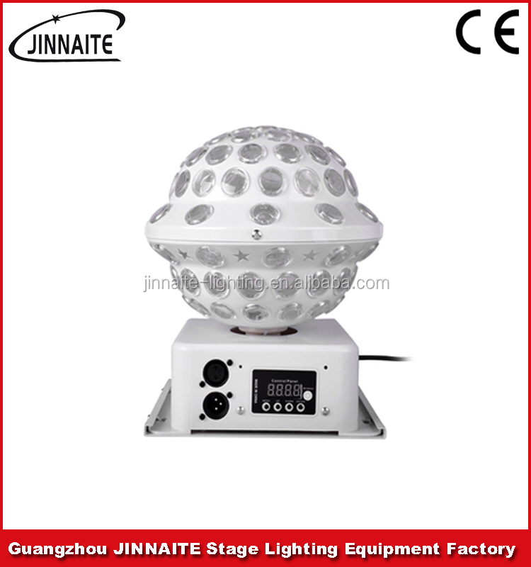 LED RGW DMX 512 Crystal Magic Ball Light Star Effect Stage Lighting Factory