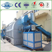 Wasted Car Tire Recycling Pyrolysis Oil Refining Machine