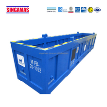 Customized BS16 offshore container max payload 10000 kg pipe basket made in China