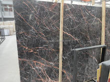 top quality domestic Cuckoo Red sale marble slab size