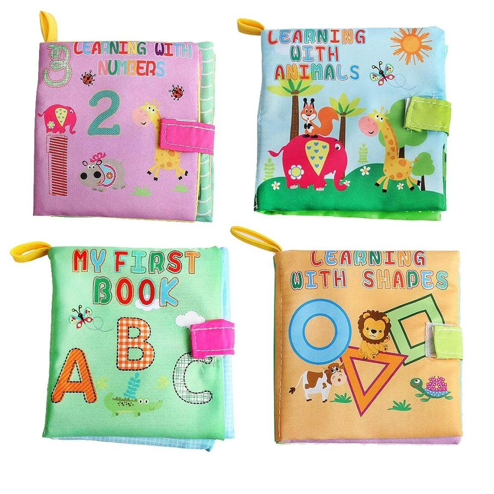 Factory Directly Supply Baby Cloth Book Educational Toys For School
