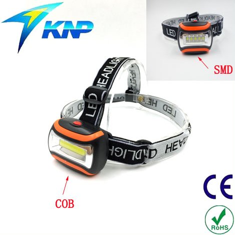 Best COB/SMD Headlamp Torch Super Bright Head Mounted Led Torch With Adjustable Strap-High Quality Strong Light